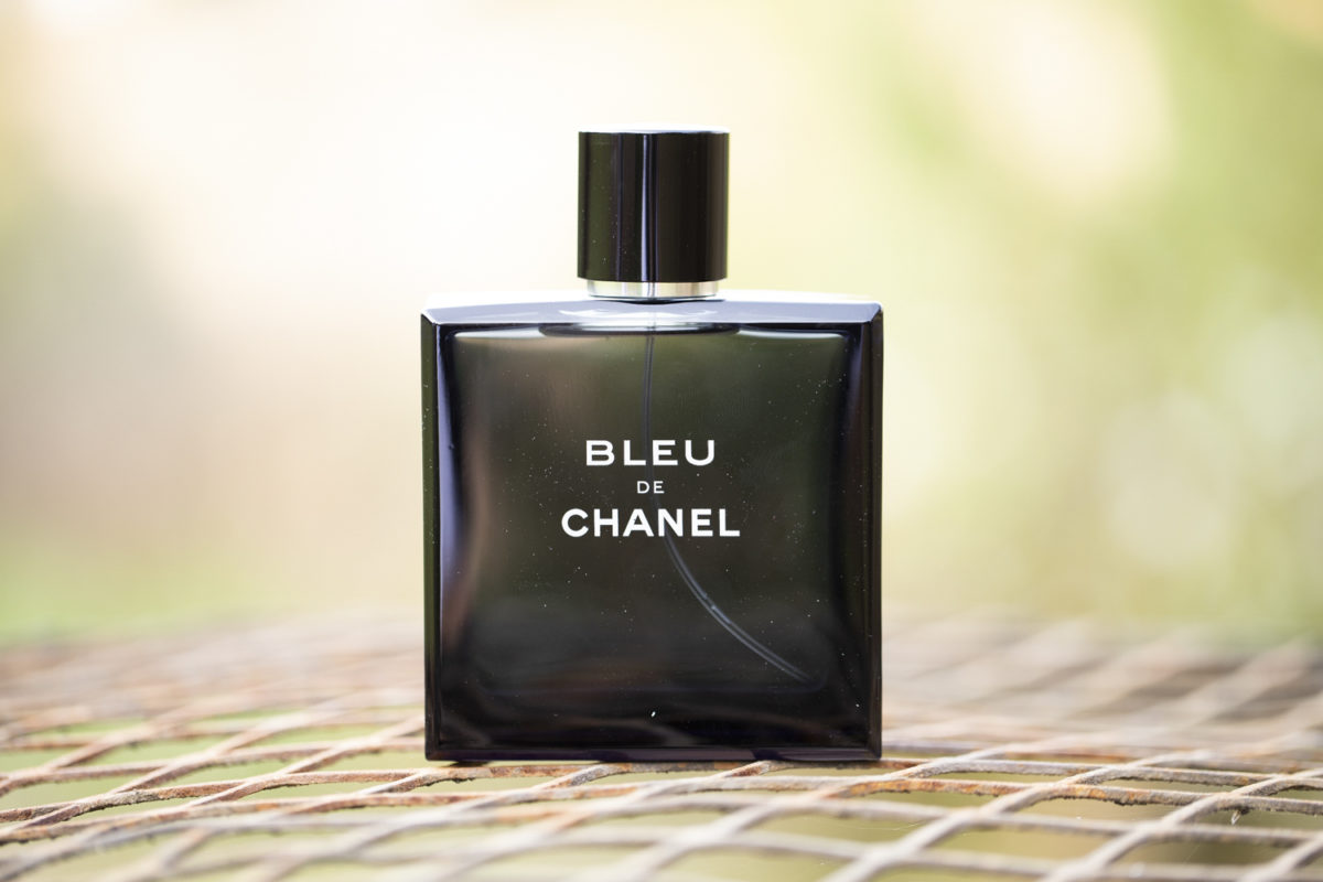 The grooms cologne at a Waterwoods Wedding