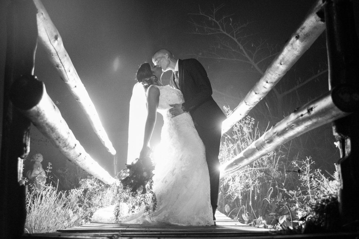 Eden Lassie Wedding bridge bride and groom