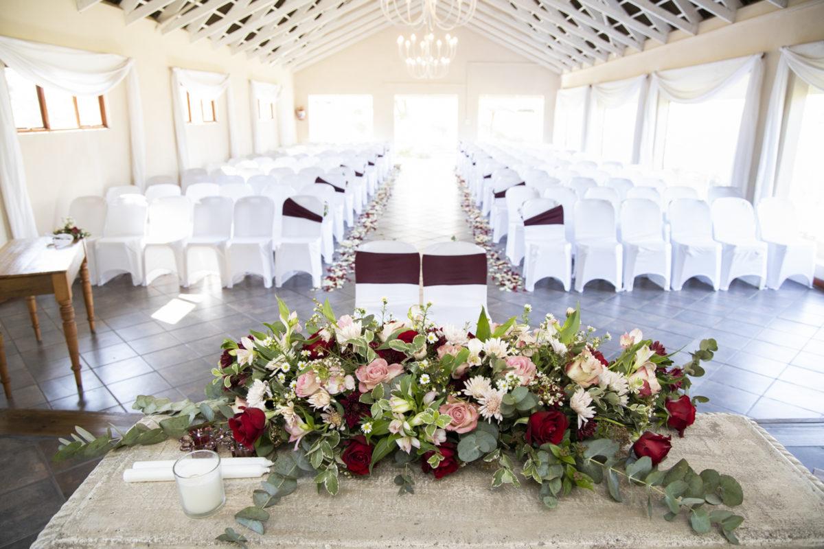 Eden Lassie Wedding chapel view