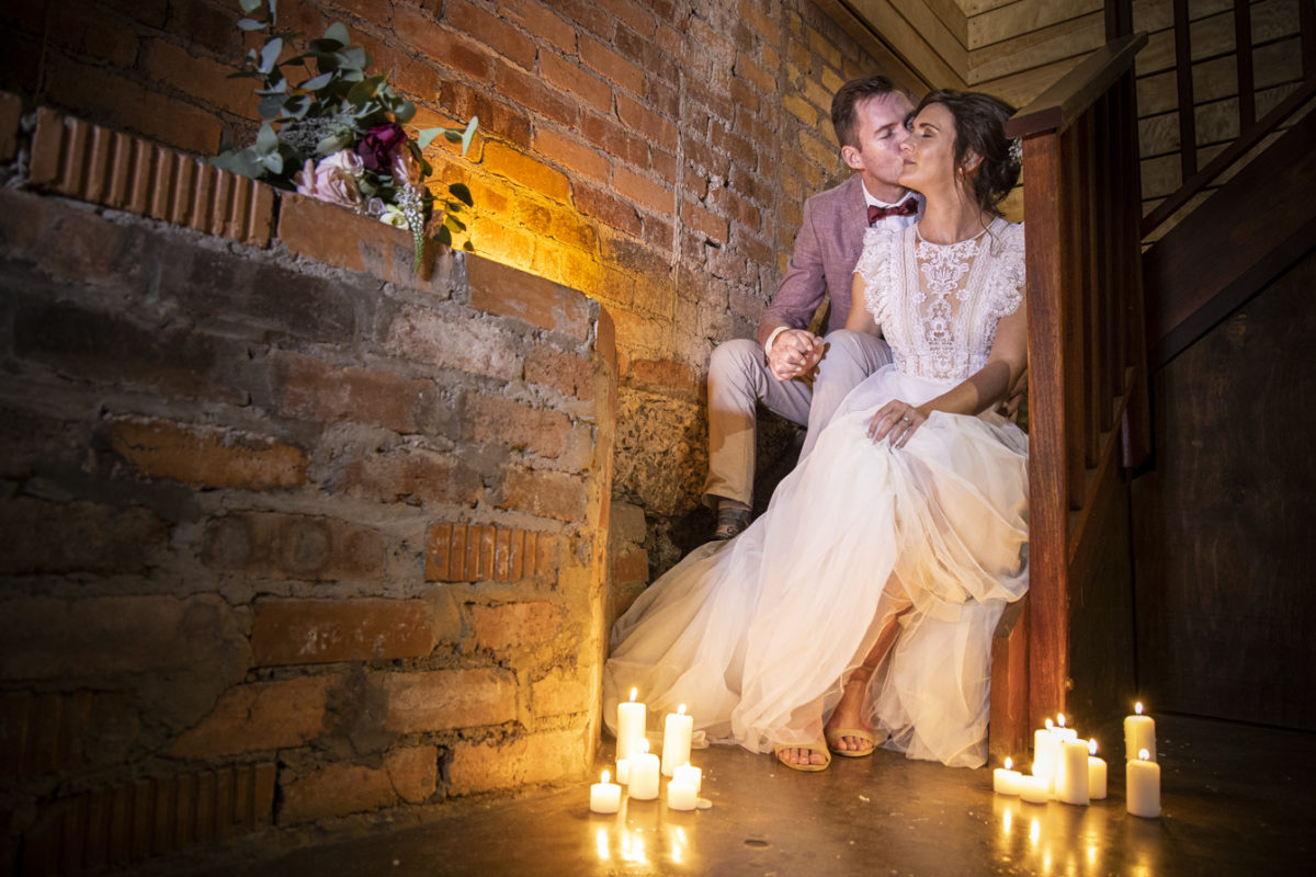 Midlands Wedding Photographer Chris McCabe Photography Durban Kzn candles